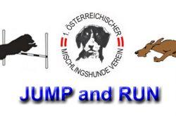 Neuheit: Jux-Agility Jump & Hunderennen Run Wettbewerb